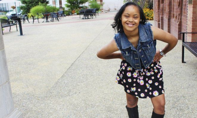 Teen With Down Syndrome Brushes Off Haters To Take Modeling World By Storm!