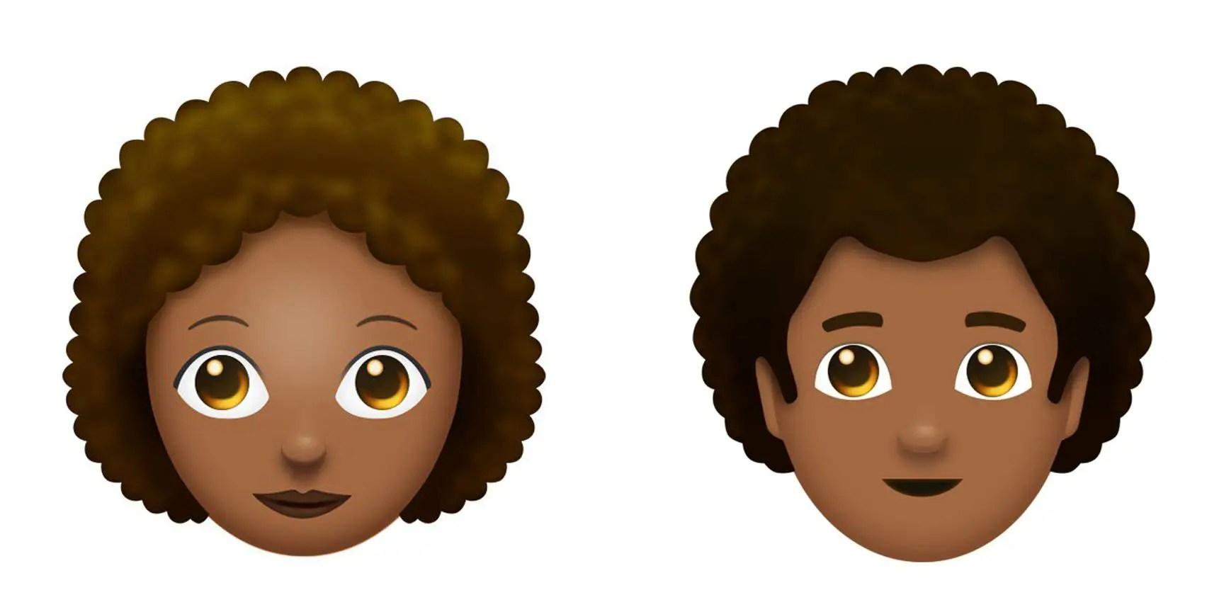 Black Hair Emoji