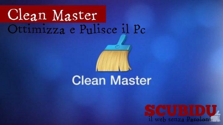 Clean Master, Ottimizza e pulisce il computer