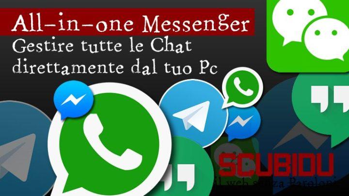All-in-one Messenger, Gestire tutte le chat da Chrome