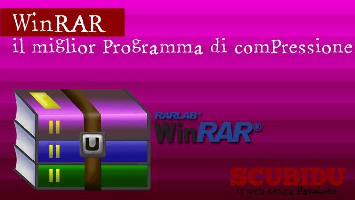 WINRAR, Il miglior programma di compressione