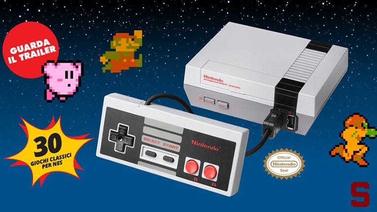 Nintendo | Torna il NES con Classic Mini
