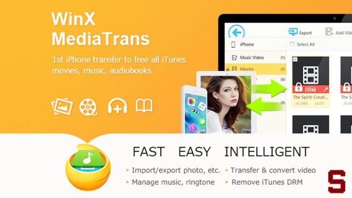 WINX MEDIATRANS, Trasferire file tra iPhone e PC in modo semplice e veloce