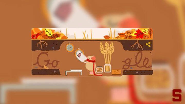 Google festeggia il primo giorno d'autunno con un doodle