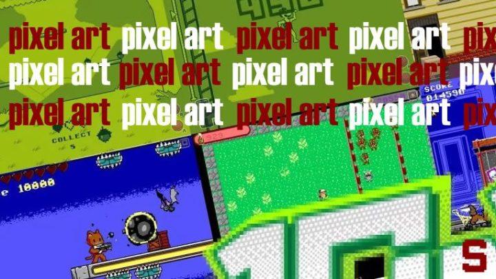 Giochi in Pixel Art, in stile retrò
