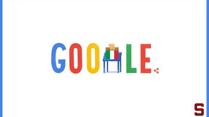 Google ricorda a tutti gli italiani che oggi si vota