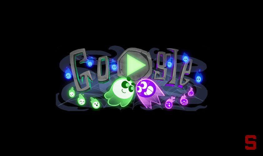 Ecco il doodle di Google per Festeggiare Halloween