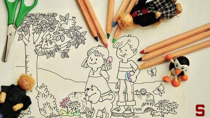 Dove trovare disegni da colorare per bambini