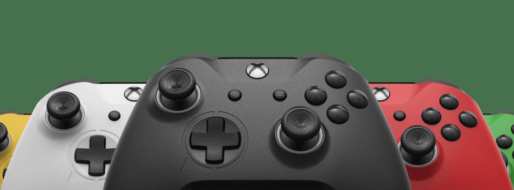 medium resolution of scuf prestige controller in various colors
