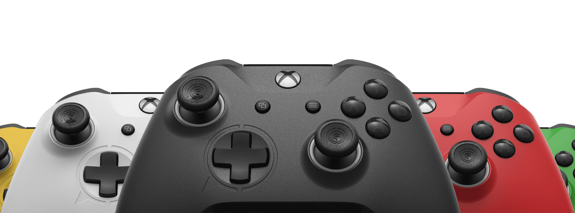 hight resolution of scuf prestige controller in various colors