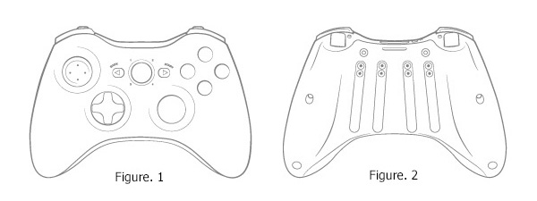 Playstation 4 Controller Outline Sketch Coloring Page