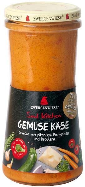 Zwergenwiese Soul Kitchen – Legume Bio cu branza, 420 ml / 400 g