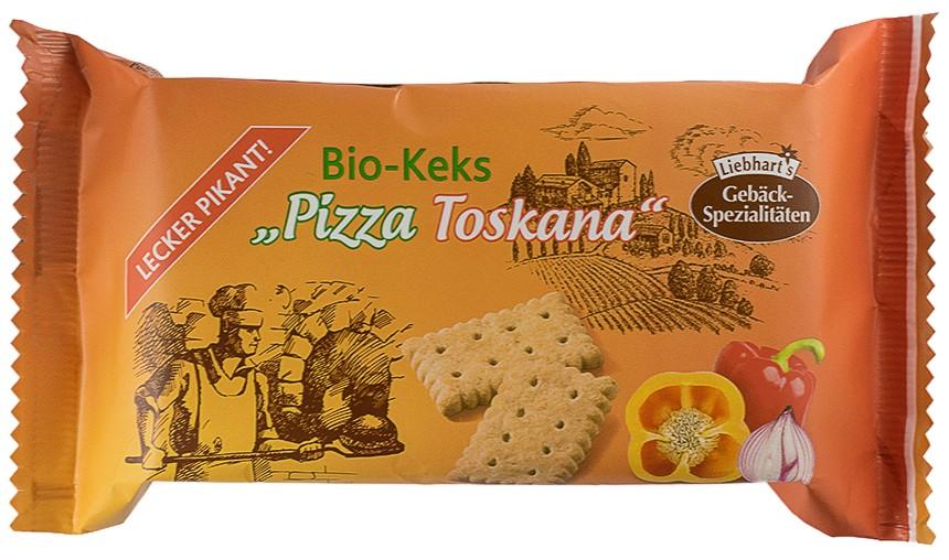 Liebhart's - Biscuiti bio ,,Pizza Toskana'', 100g