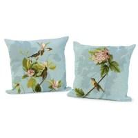 Hydrangea and Magnolia Pillows | Pillows | Home Decor ...