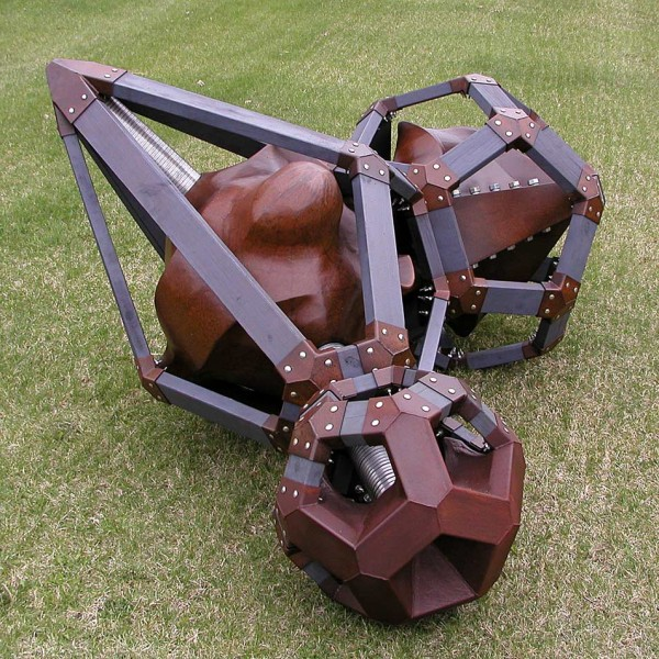 Original sculpture Hephaestus Fallen by sculptor Sam Spiczka