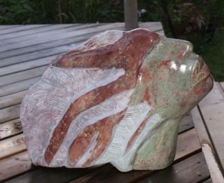 Wild spirit sculpture