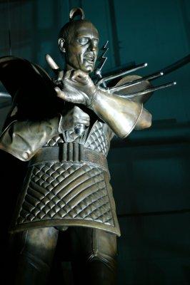 Riff Raff sculpture