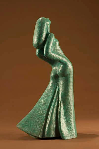 David Hostetler sculpture Dancing Lady 1