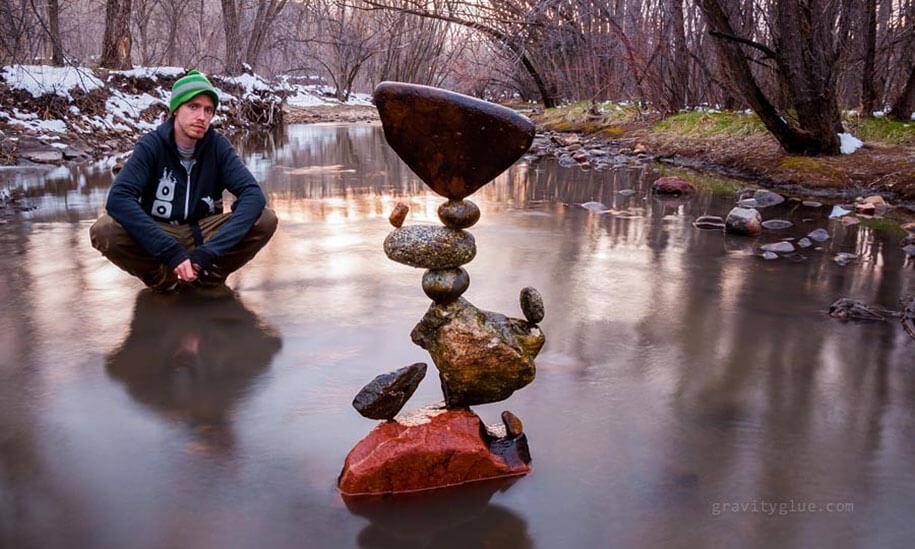 Stone Balancing by Michael Grab