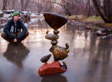 Stone Balancing by Michael Grab