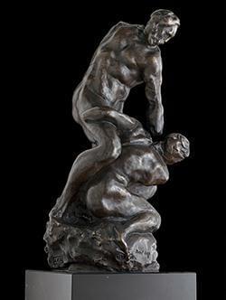 Michelangelo sculpture model