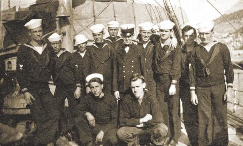 USCGC Tampa sailors