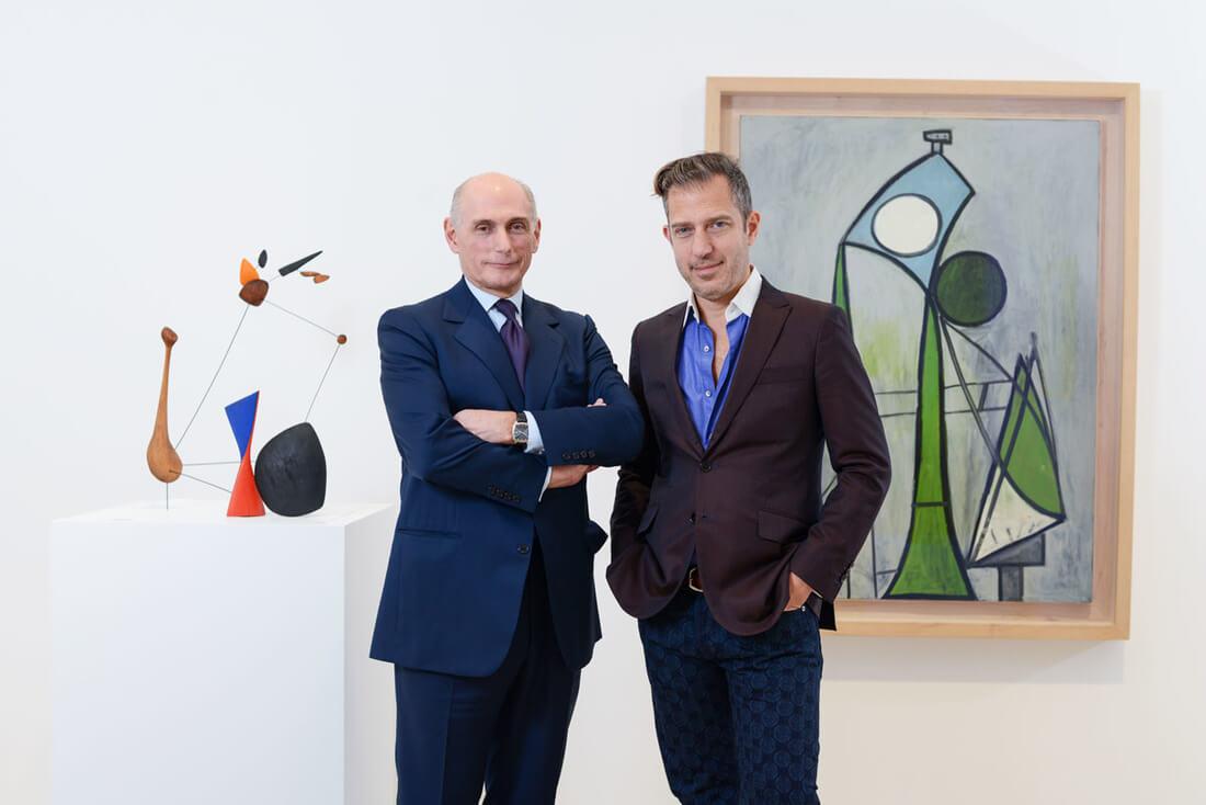 Calder & Picasso Grandsons