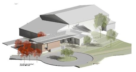 Dove Springs Rec Center Call for Artists building design