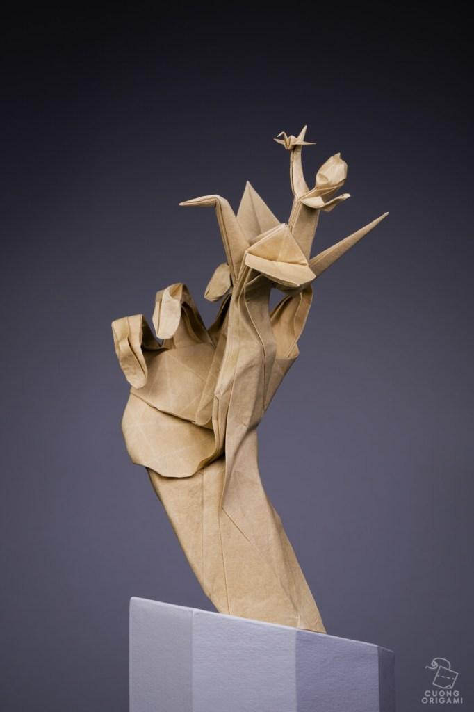 Nguyen Hun Cuong paper sculpture