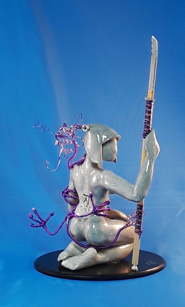 Tym Davis Sculpture Series: Patience
