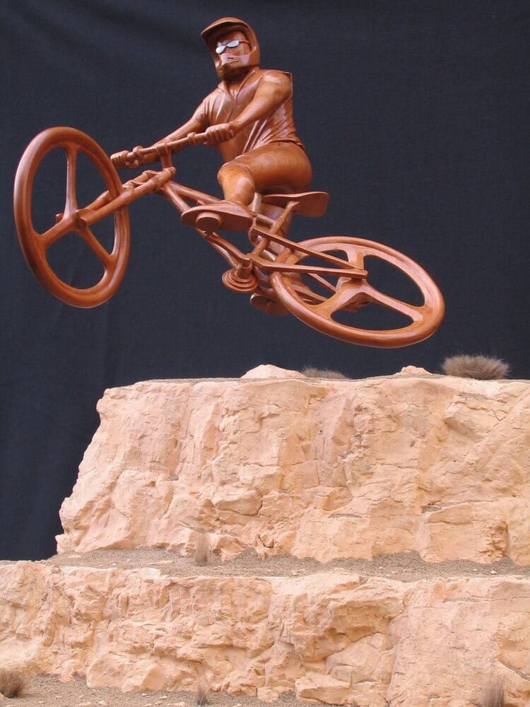 Epic Ride by sculptor Lee Maple