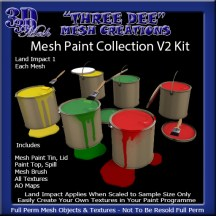 Mesh Paint Collection V2 Kit AD Pic