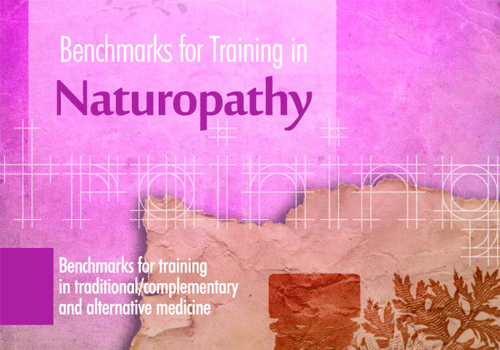 Benchmarks for training in Naturopathy
