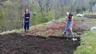 CODERA orti biodiversità preparazione terreno