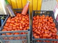 mercato agricolo diffuso di Mola di Bari - pomodori e passata