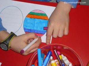 Insegnare a colorare nei bordi