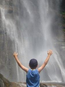 La cascata di Piuro: una gita salva famiglia