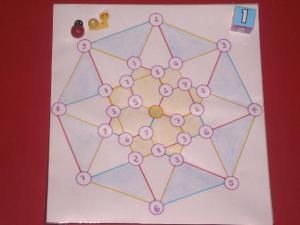 Gioco matematico: Corsa al centro della stella