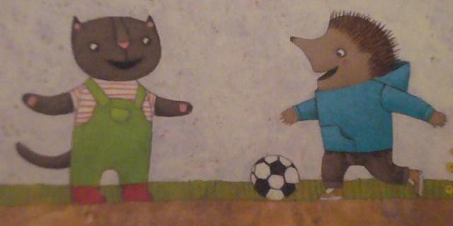 Gattino e il pallone