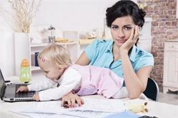 mamma e lavoratrice