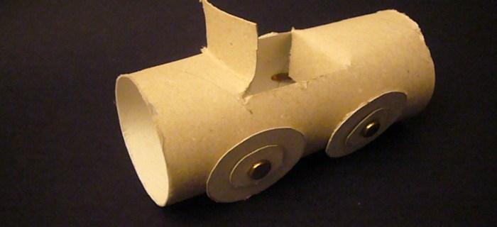Costruire una macchina con un rotolo di carta