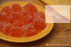 Ricetta per caramelle arancia e miele