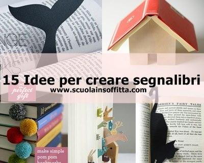 15 Idee per creare segnalibri
