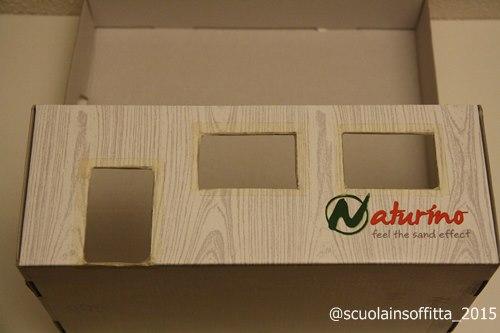 creare con scatola delle scarpe