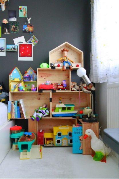 organizzare i giocattoli