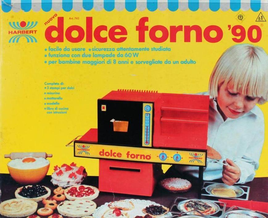 10 giocattoli anni 39 70 39 80 ancora in commercio - Dolce forno gioco ...