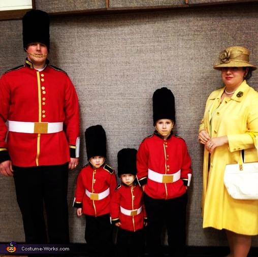 costume di carnevale per famiglia
