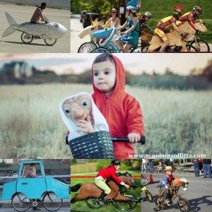 Costume di Carnevale per bicicletta