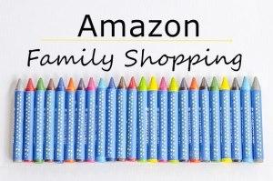 amazon family shopping