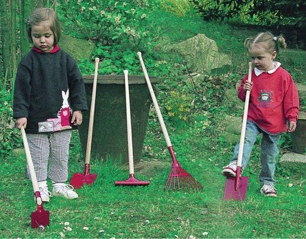 attrezzi per piccoli giardinieri